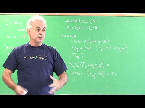 Termologia Parte 5 - Calorimetria | Vídeo Aulas de Física Online