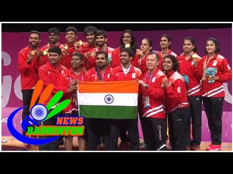CWG 2018: India Beats Malaysia In Badminton Mixed Team Event To Clinch Gold