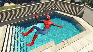 GTA 5 Funny Spiderman ragdolls vol.3