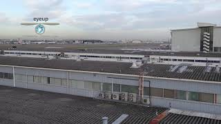 Footage from a DRONE being flown at HEATHROW Airport