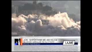 Shembet pjesërisht me eksploziv kompleksi 'Jon' në Vlorë