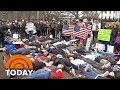 Students Stage 'Die-In' Outside White House In Protest To Florida Shooting   TODAY MP3