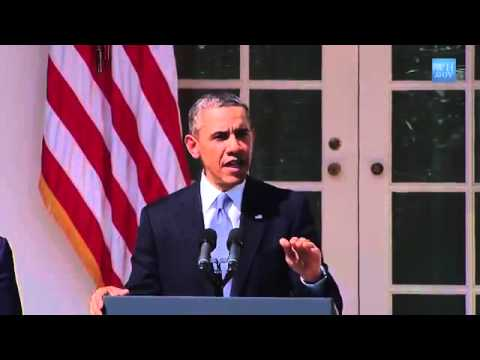 Video US President Barack Obama Announces the Fiscal Year 2014 Budget