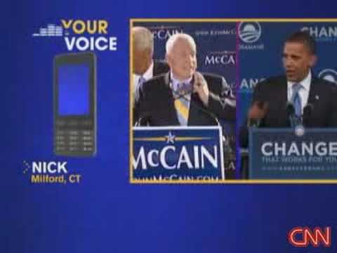 Viewers talk about McCain ad Video