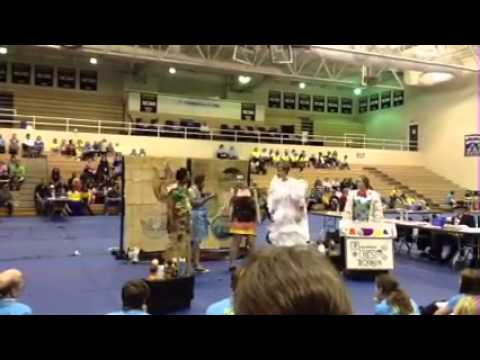 OM 2014   Odyssey of the Mind Providence High School Problem 2 NCOM Central Region Competition