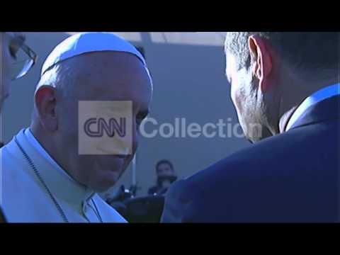 MIDEAST: POPE AT MOUNT SCOPUS JERUSALEM