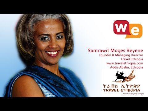 Wisdom Exchange TV host Suzanne F Stevens presents: Samrawit Moges Interview Travel Ethiopia