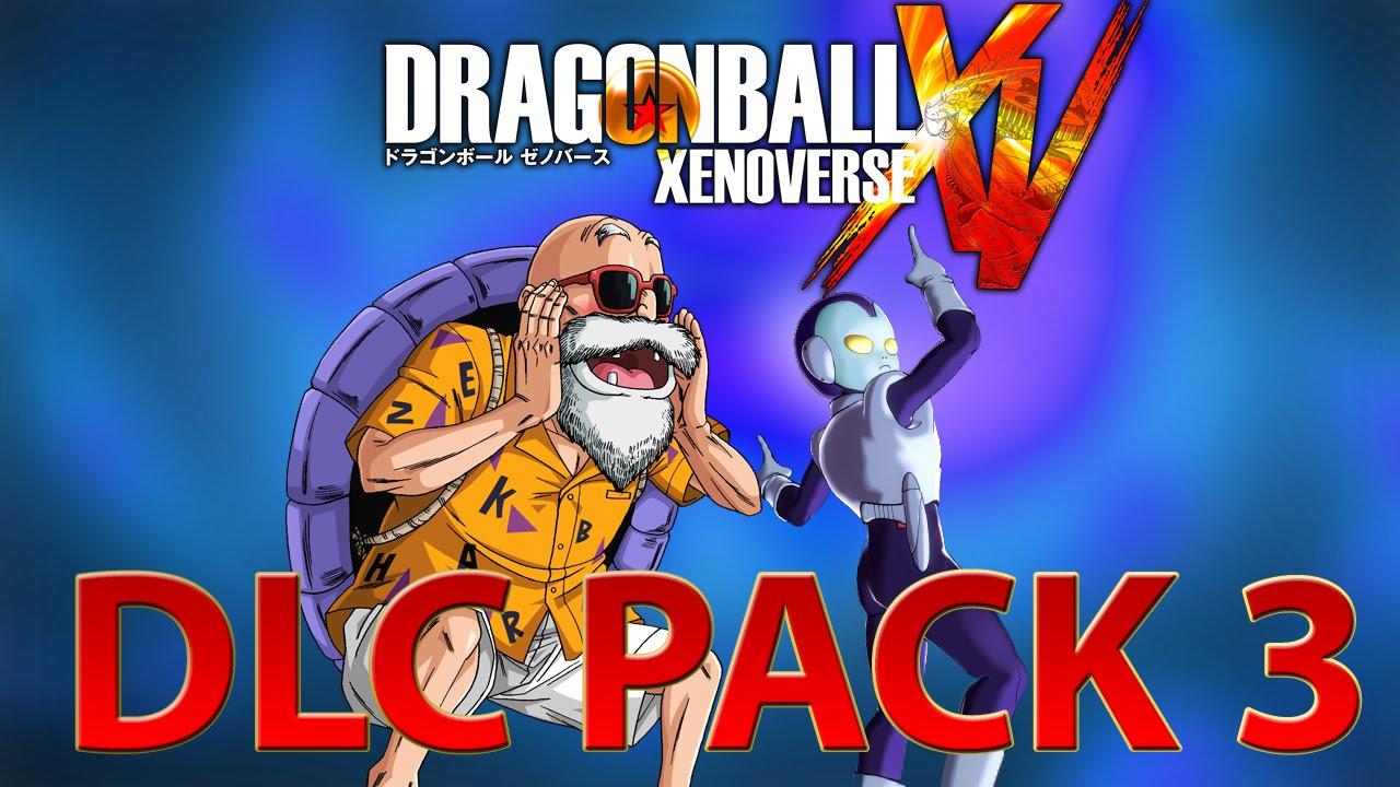 DRAGON BALL XENOVERSE DLC PACK