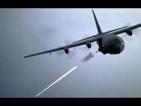 Deadliest Aircraft in the US Air Force: The AC-130 Spectre Gunship (720p)