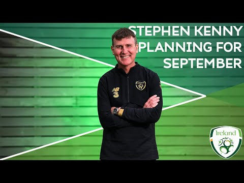 INTERVIEW | Stephen Kenny planning for September internationals