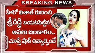 Sri Reddy Sensational Comments About Hero Vishal | Vishal Threatened Sri Reddy ?| TTM
