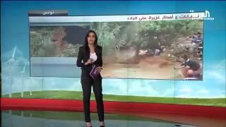 فيضانات في تونس و أمطار منى تلطف الأجواء