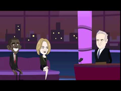 бесплатные мультфильмы русские политические Меркель и Обама   mulnimaniaTV