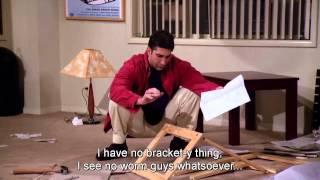Friends en V.O sous-titré anglais avec Albert | saison 1, épisode 1, partie 6