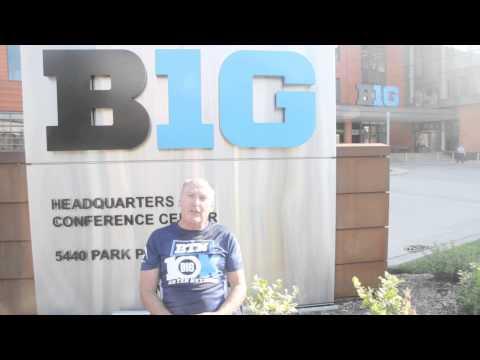 Big Ten Commissioner Jim Delany Takes ALS Ice Bucket Challenge