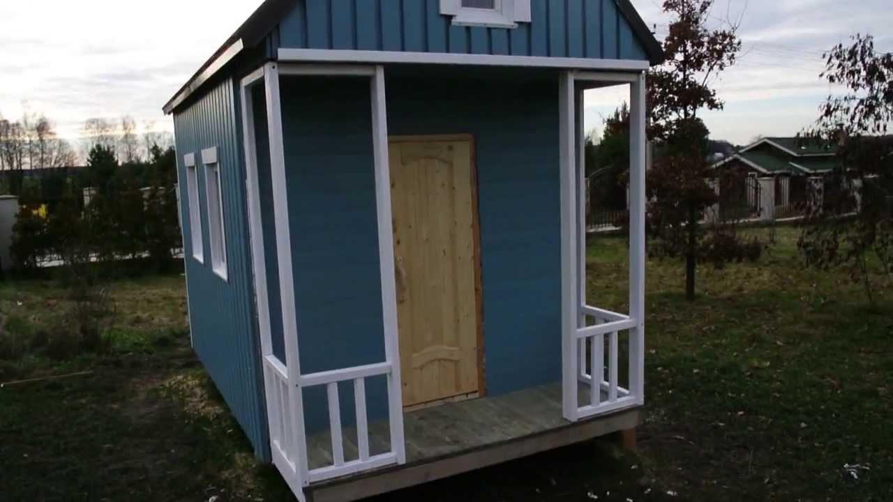Построить домик своими женскими руками