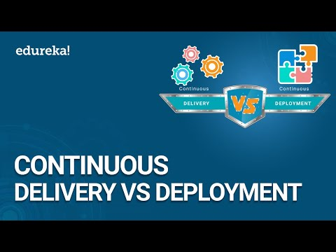 Continuous Delivery vs Continuous Deployment | DevOps Methodology | Devops Training | Edureka