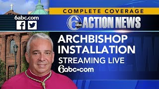 ARCHBISHOP INSTALLATION: Nelson Perez is being formally installed as the new archbishop for Philadel