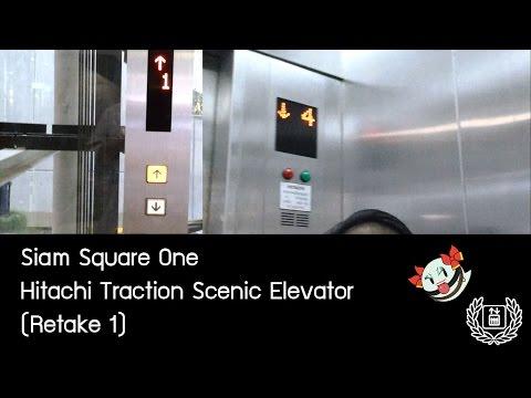 Siam Square One - Hitachi Traction Scenic Elevator (Retake 1) 『Glass Neoborn』