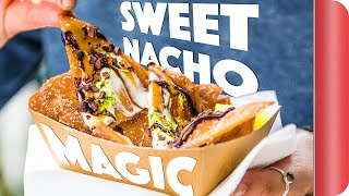 Can Four Idiots Run A Food Truck Selling Sweet Nachos?!