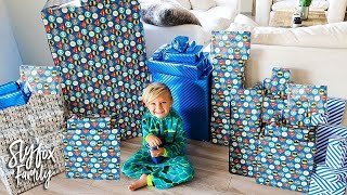 🎂 CASPIAN'S 5th BIRTHDAY SPECIAL MORNING PRESENT OPENING!! 🎁 | Slyfox Family