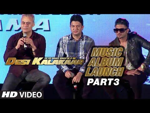 Desi Kalakaar Music Album Launch - Part - 3 | Yo Yo Honey Singh...