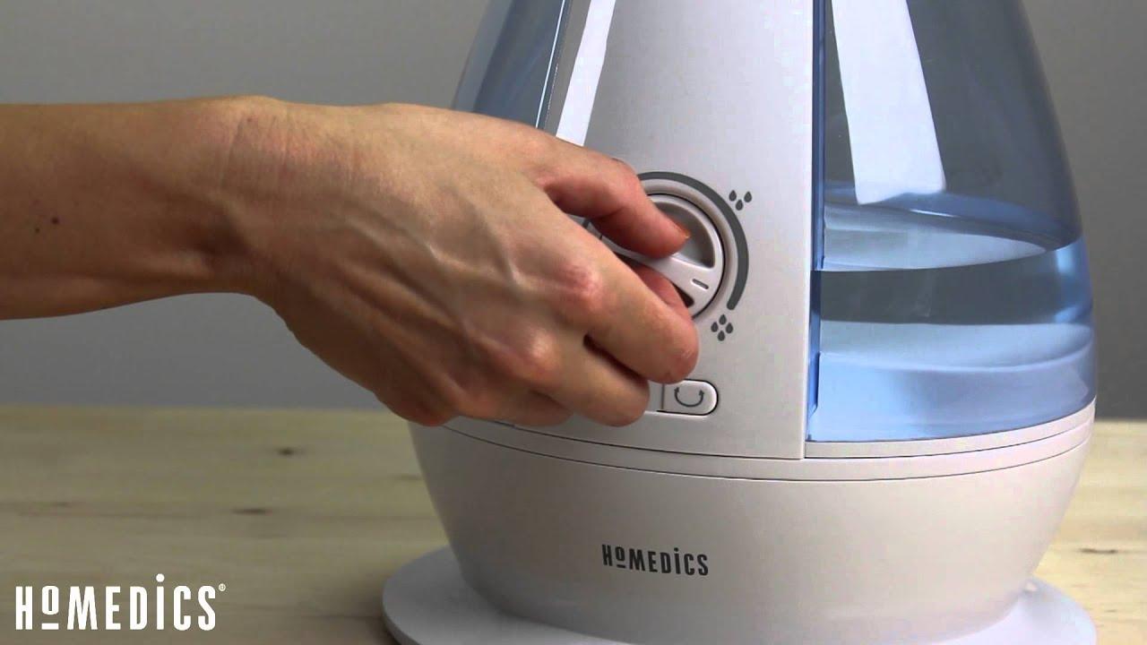 Homedics Ultrasonic Cool Mist Humidifier Small To Medium
