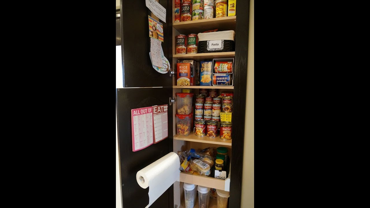 Organizing tip of the day perfect pantry youtube for Perfect kitchen organization