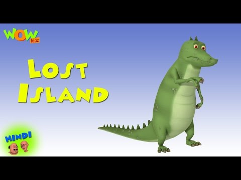 Lost Island - Motu Patlu in Hindi - 3D Animation Cartoon for Kids -As seen on Nickelodeon thumbnail