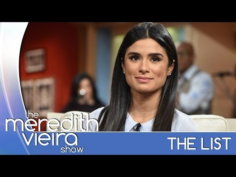 Diane Guerrero's Parents Were Deported - #TheList | The Meredith Vieira Show