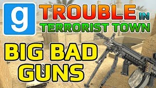 Terrible Guns (Garry's Mod Trouble In Terrorist Town)