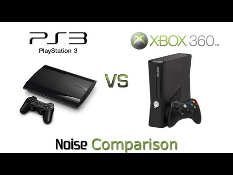 PlayStation 3 Super Slim vs Xbox 360 Slim - Noise Comparison
