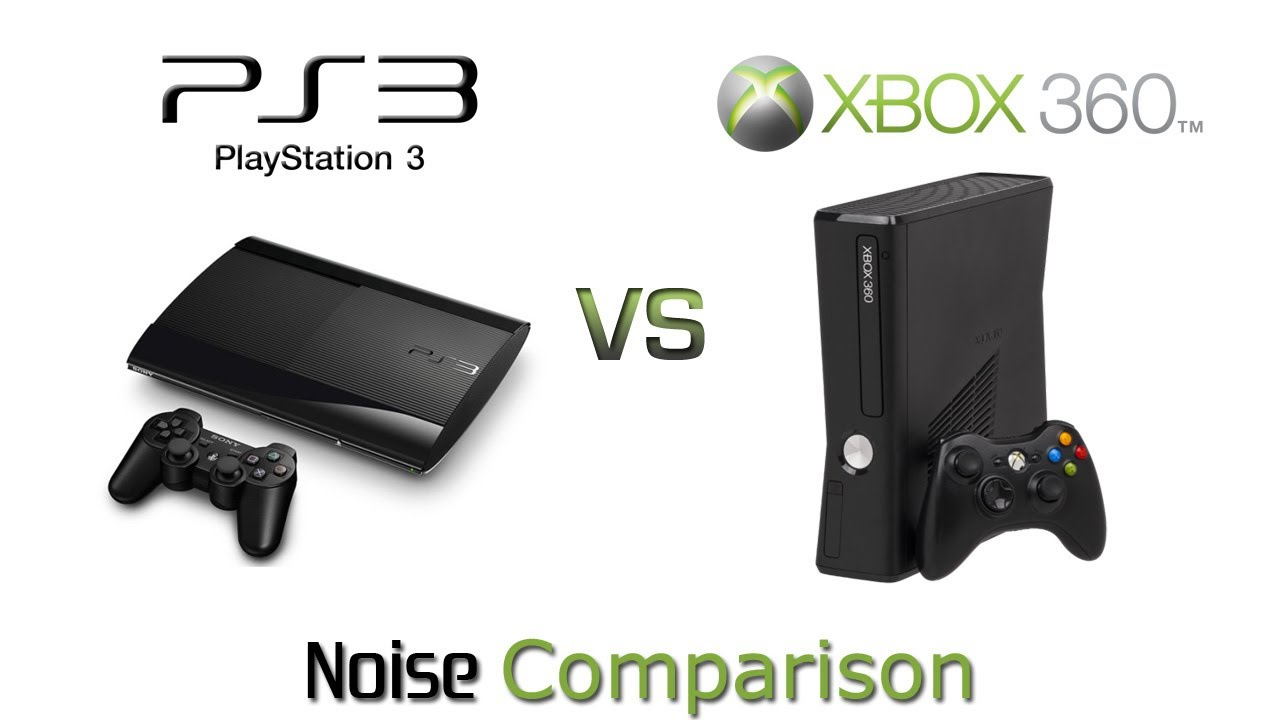 PlayStation 3 Super Slim vs Xbox 360 Slim - Noise ...