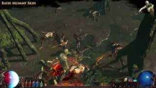 Path of Exile - Raise Mummy Skin | Microtransaction Effect