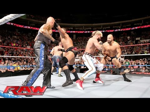 Enzo Amore & Big Cass help John Cena even the odds against The Club: Raw, July 4, 2016