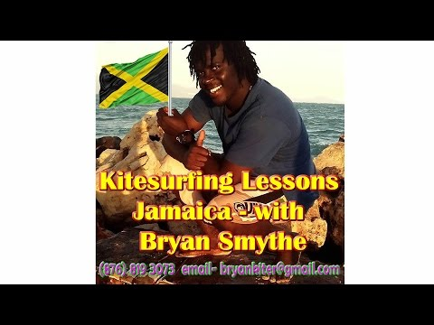Kitesurfing Lessons Jamaica-Bryan Smythe-JAMAICA SPORTS VACATION!
