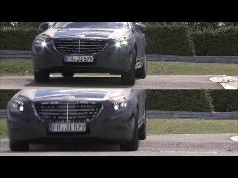 ► NEW 2014 Mercedes S-Class MAGIC BODY CONTROL