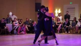 Nora's Tango Weekend - Sebastian Achaval & Roxana Suarez - Tango Vals Demo - 2016 July 3
