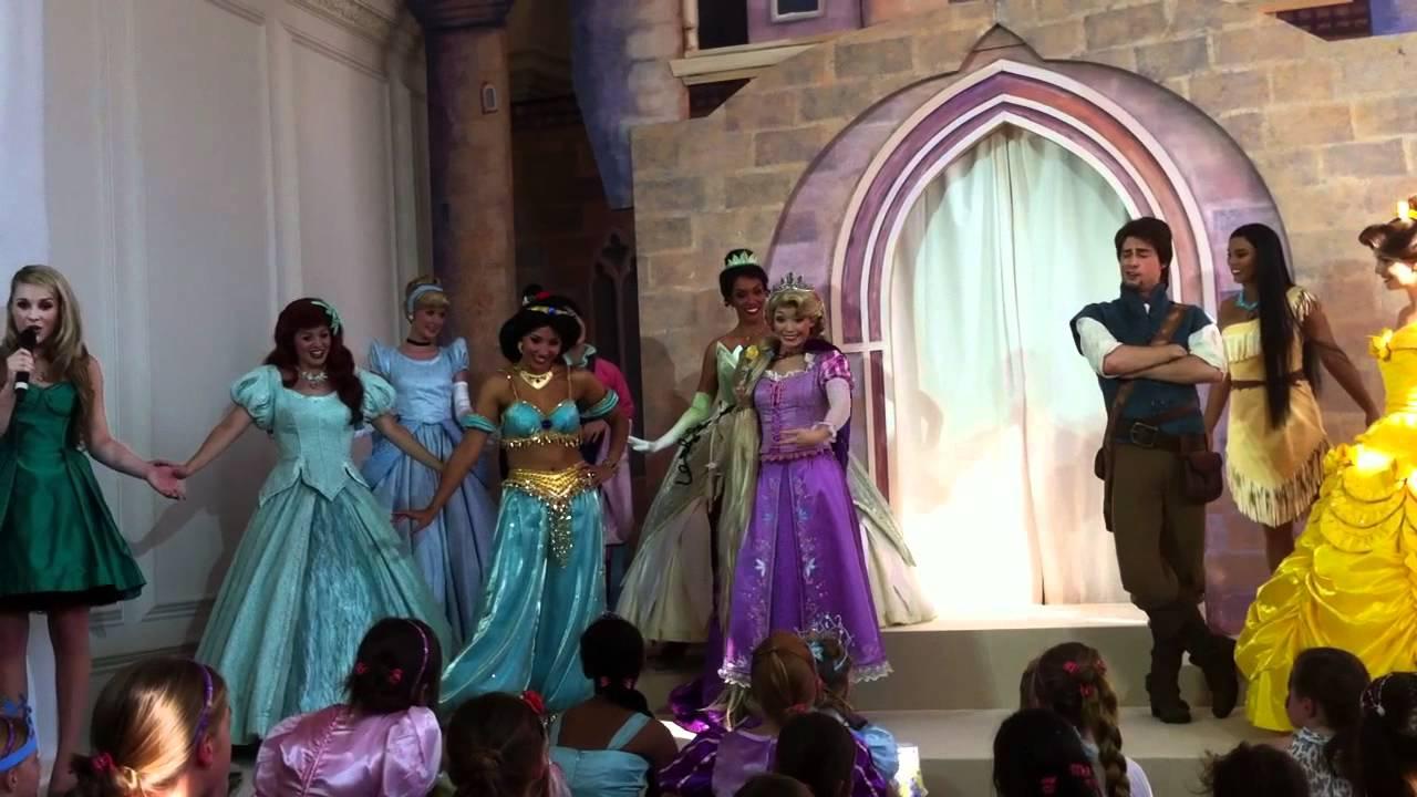 Rapunzel Crowning Disney