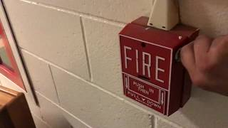 Field Work - Middle School Fire Alarm Test