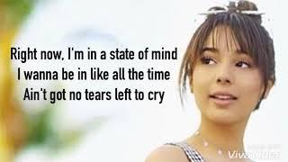 Download Lagu Lyrics : No Tears Left To Cry - Ariana Grande   Angelic cover Gratis STAFABAND