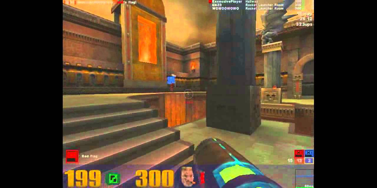 Now imagine playing in an international qualifier for a quake is the 4th major release in the quake series