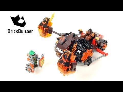 Lego Nexo Knights 70313 Moltor's Lava Smasher - Lego Speed build