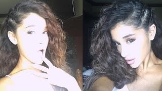 Ariana Grande Ditches Infamous Pony & Reveals Natural Curls