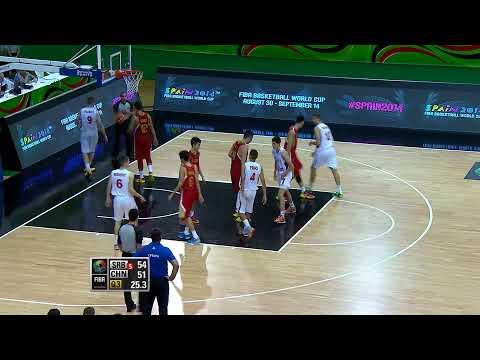 Serbia v China - Group D Full Game - 2014 FIBA U17 World Championship