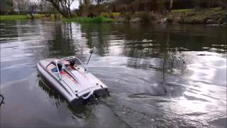 Pro Boat River Jet 23 rc jet boat first test