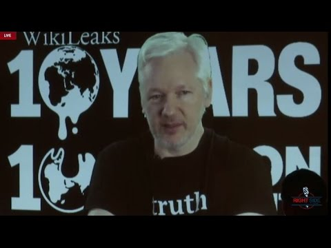 LIVE Stream: Wikileaks/Assange October Surprise Press Conference- What do they have on Hillary?