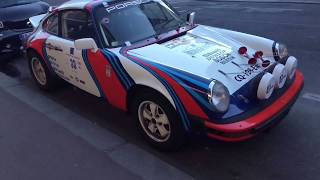 vintage  car rally racing    Porsche 911 Rally  & Austin 1959 HD & 4K