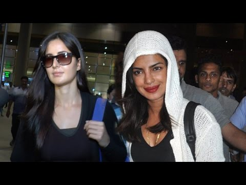 Airport Spotting 26 May 2016 | Priyanka Chopra, Katrina Kaif