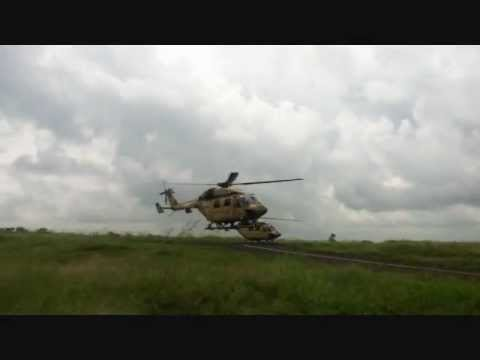 Indian Army Dhruv Helicopters video